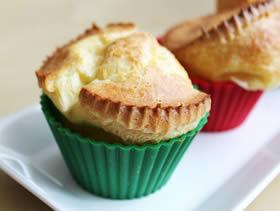 Popover (Muffin Kalıbında Krep)
