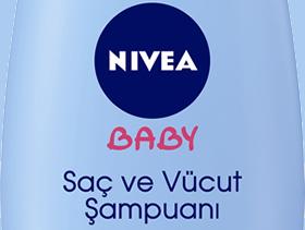 NIVEA BABY Saç ve Vücut Şampuanı, Sık Yıkamada Bile Cildi Kurutmuyor.