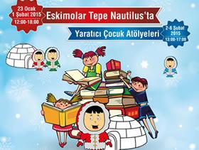 Eskimolar Tepe Nautilus'un Geleneksek Mini Kitap Şenliği'ne Geliyor