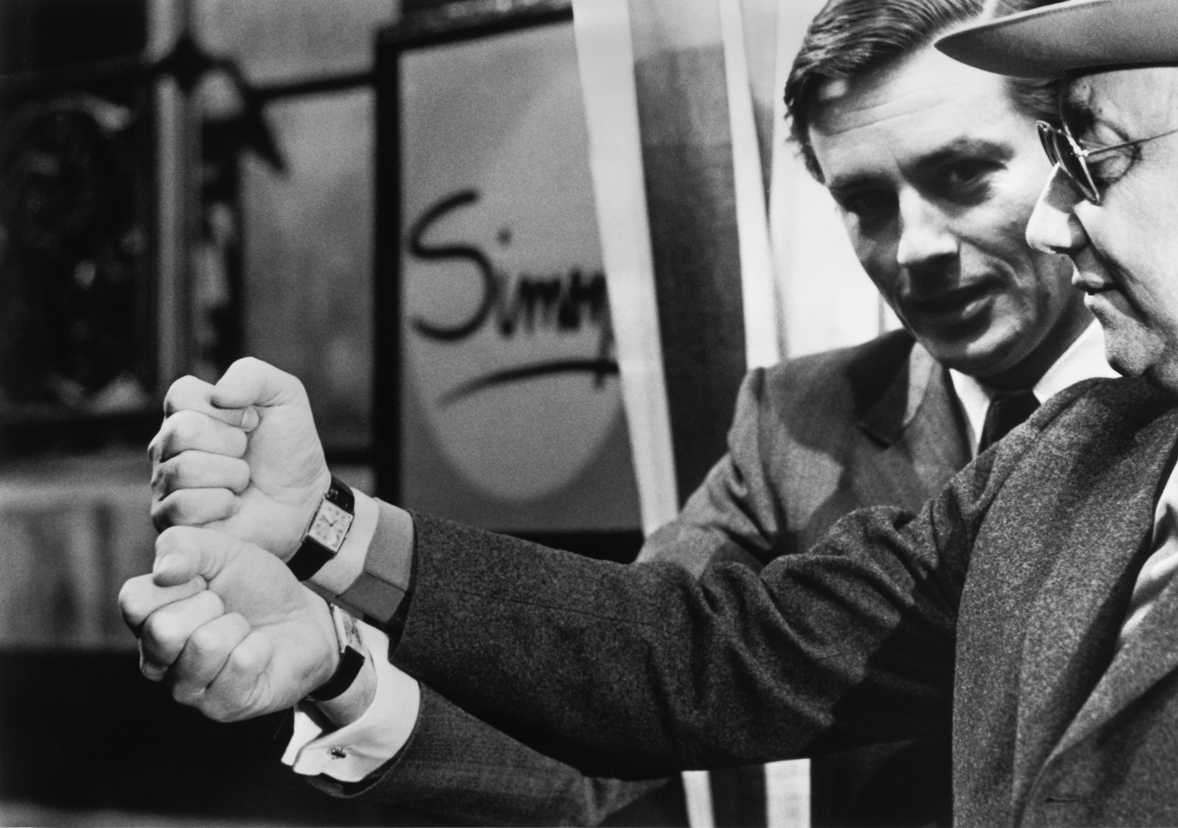 On the set of the film _Un Flic,_ Alain Delon notes that his favorite watch, the Tank Arrondie, is also the one worn by the director he most enjoyed working with, Jean-Pierre Melville