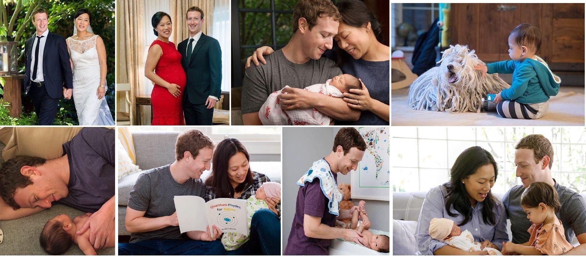 Mark Zuckerberg, ikinci kez baba oldu