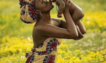 Afrikali cocuk
